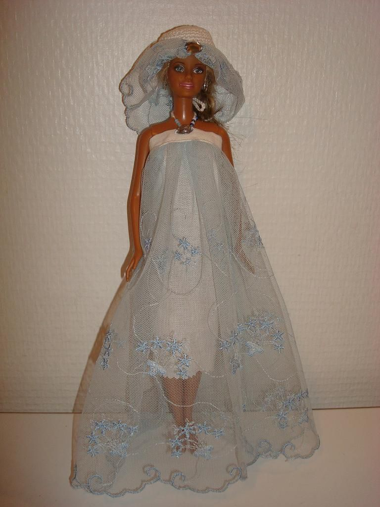 Patron robe soiree barbie